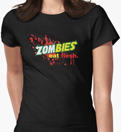 Zombies essen Fleisch-Variante T-Shirt