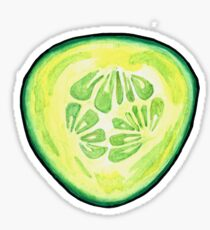Cucumber Slice  Sticker