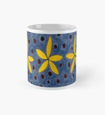 Yellow Tiny Flower Painting Mug
