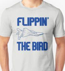 Flippin' The Bird - Top Gun Unisex T-Shirt