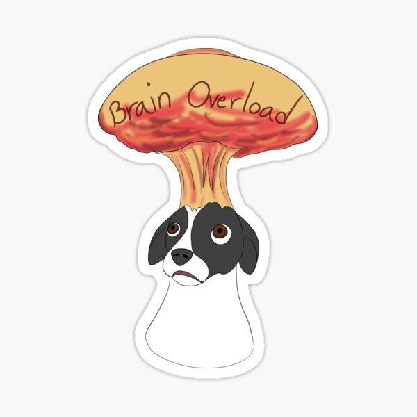 Brain Overload Sticker