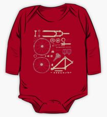 Bicycle Parts One Piece - Long Sleeve