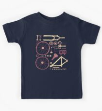 Bicycle Parts Kids Tee