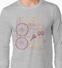 Bicycle Parts Long Sleeve T-Shirt