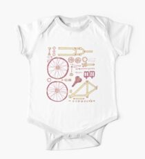 Bicycle Parts One Piece - Short Sleeve
