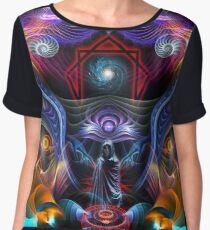 Commissioned piece for TA Women's Chiffon Top