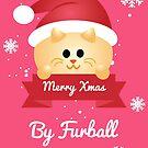 Furball - Purr Xmas by LorielDesign