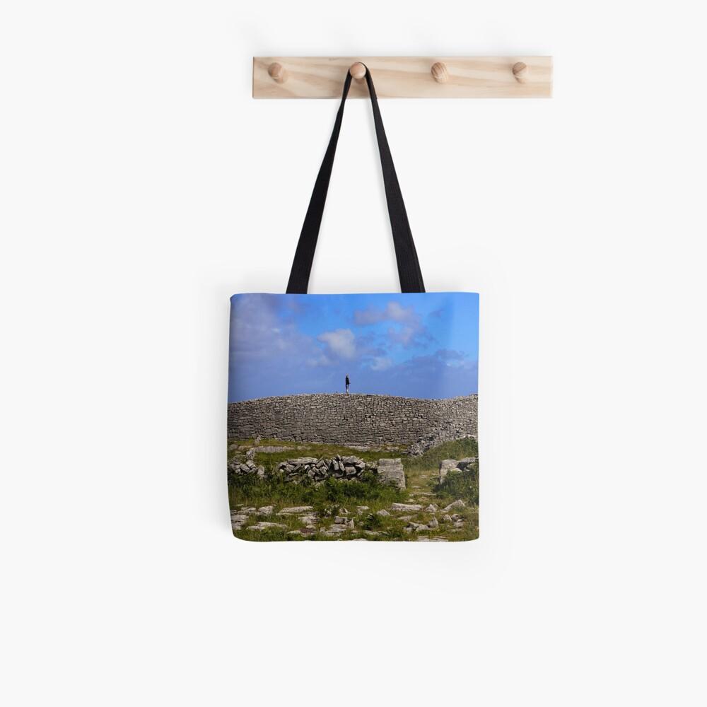 Dun Eochla Stone Fort - Inishmore Tote Bag