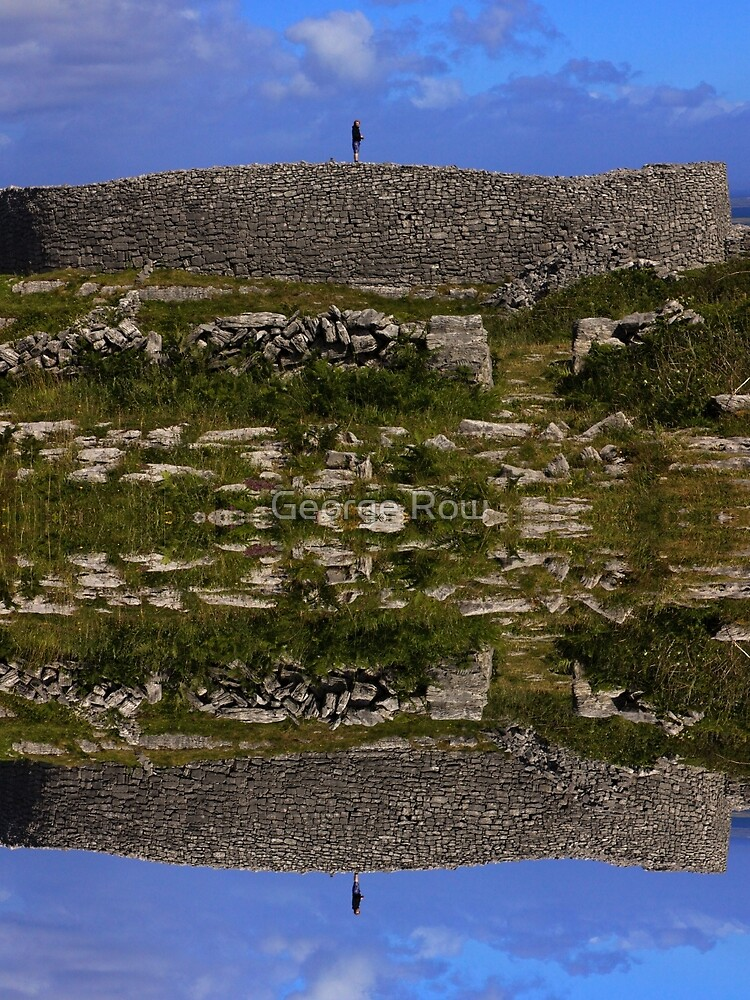 Dun Eochla Stone Fort - Inishmore by VeryIreland