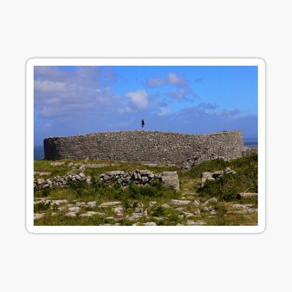 Dun Eochla Stone Fort - Inishmore Sticker