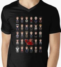 A Field Guide to the Common Cumberbatch (shirt) Men's V-Neck T-Shirt