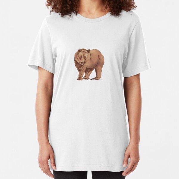 """Rest"" Bear Slim Fit T-Shirt"