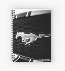Ford Mustang 2 Spiral Notebook
