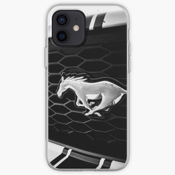 Ford Mustang 2 Funda blanda para iPhone