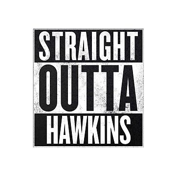 straight outta hawkins by claudiolemos