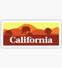 Scenic California Sticker