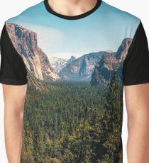 Yosemite Valley Graphic T-Shirt
