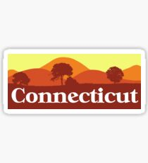 Scenic Connecticut Sticker