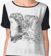 Nemesis Women's Chiffon Top