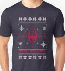 Ugly Sweater Skyrim Unisex T-Shirt
