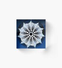 Incendia snowflake Acrylic Block