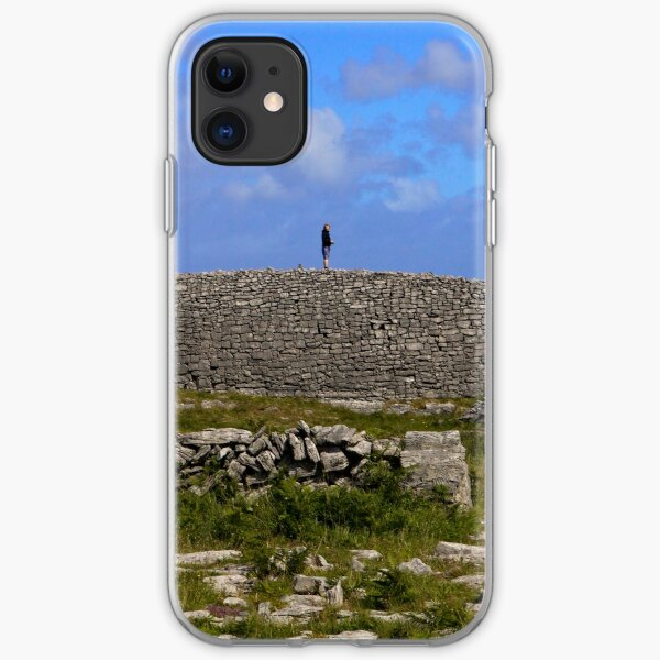 Dun Eochla Stone Fort - Inishmore iPhone Soft Case