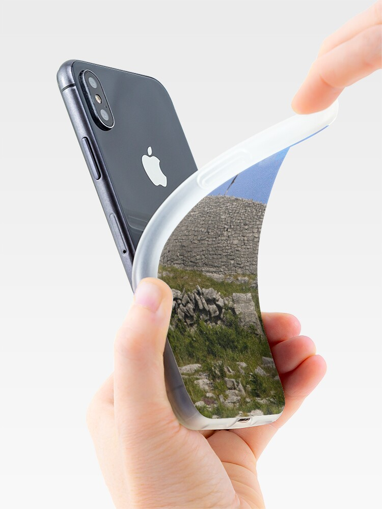 Alternate view of Dun Eochla Stone Fort - Inishmore iPhone Case & Cover