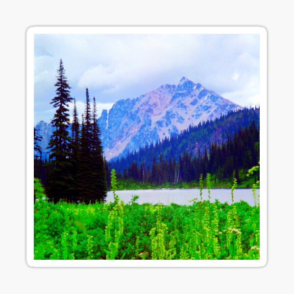 Alpine Lake Sticker