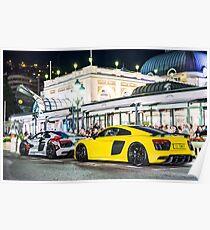 Audi R8 Plus  Poster