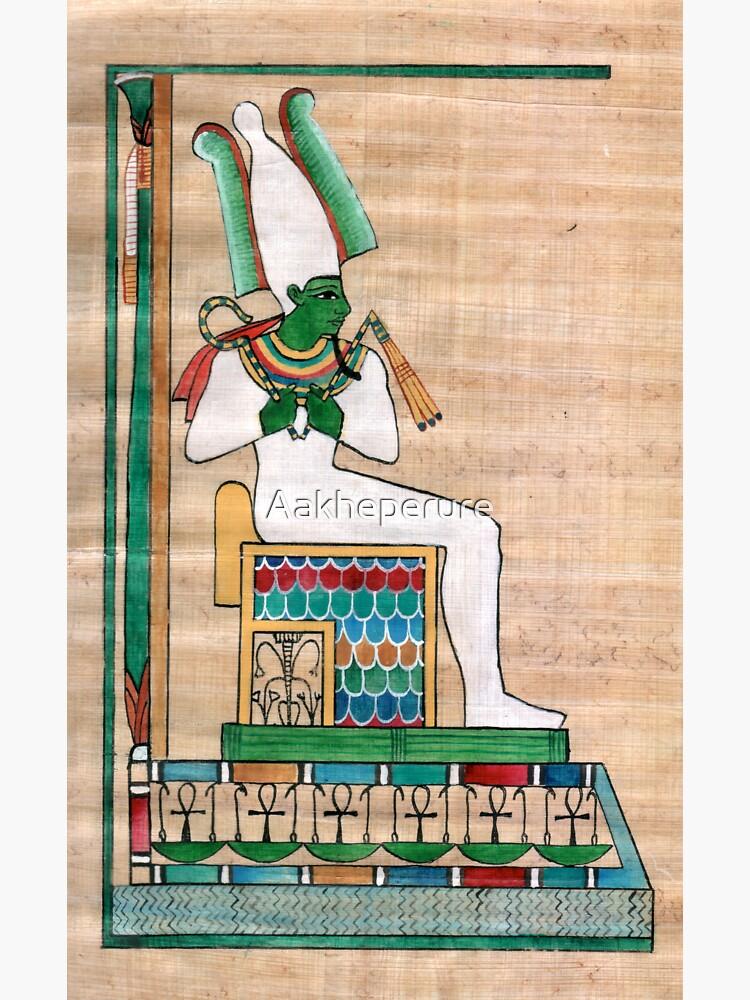 Divine principles: Osiris by Aakheperure