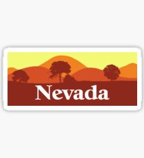 Scenic Nevada Sticker