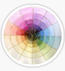 Colour Wheel Sticker