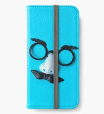 Groucho Marx Disguise in Blue iPhone Wallet/Case/Skin