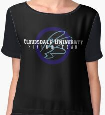Cloudsdale University - Flying Team Women's Chiffon Top