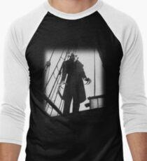 Nosferatu Symphony of Horror Vampire Graphic Design Men's Baseball ¾ T-Shirt