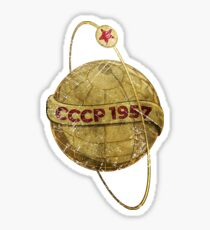 CCCP 1957 Sputnik Sticker