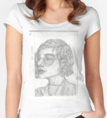 in class sketch Women's Fitted Scoop T-Shirt