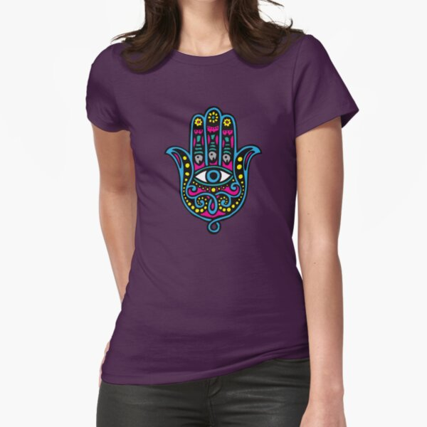 Hand of Fatima Fitted T-Shirt