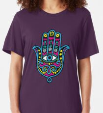 Hand of Fatima Slim Fit T-Shirt