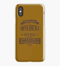 Big Thunder - Brown/Burnt Orange iPhone Case/Skin