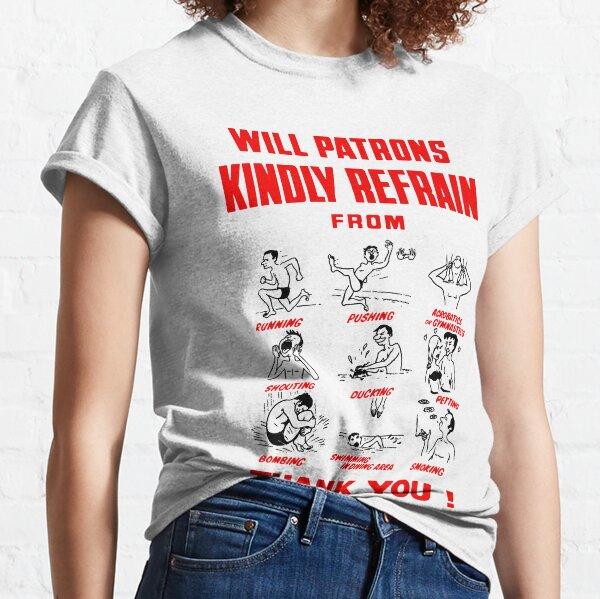 Pool Rules Classic T-Shirt
