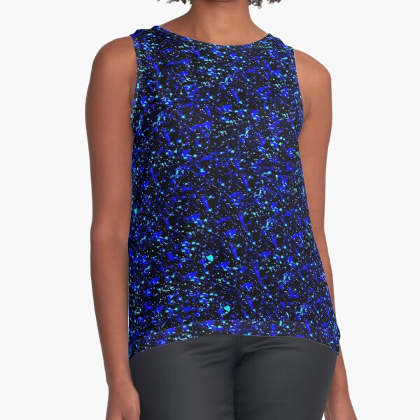 Starry Night Sleeveless Top