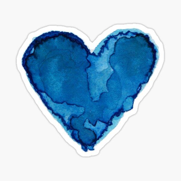 MY BLUE HEART Sticker