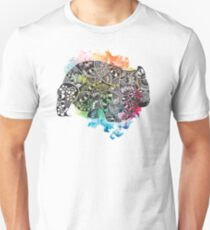 Wombat with Dododoodles and Watercolour T-Shirt