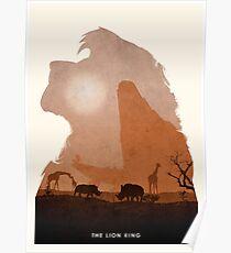 König der Löwen Poster