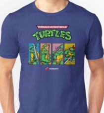 Teenage Mutant Ninja Turtles 80s Arcade Game T-Shirt