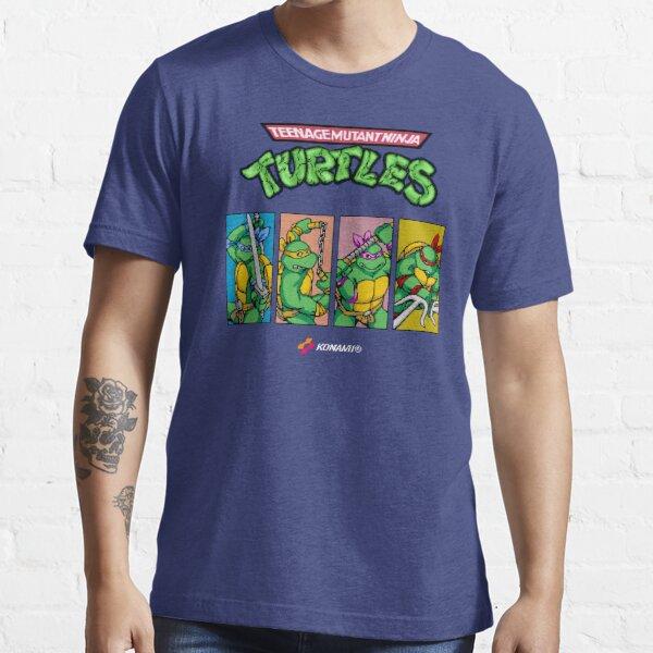 Teenage Mutant Ninja Turtles 80s Arcade Game Essential T-Shirt