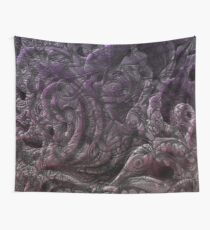 3d Psychedelic faces 03 Wall Tapestry