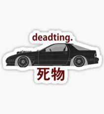 RX7 - FC3S Drift Car - V8 ;)  Sticker