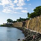 City walls of Old San Juan by Mark Prior